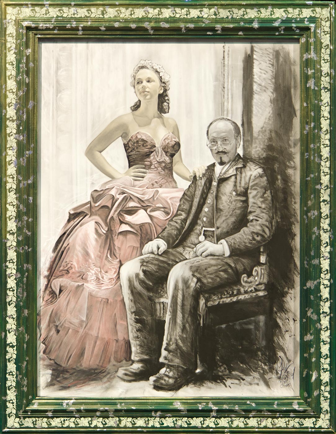 Professor Serebryakov and Yelena